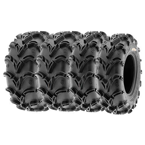 SunF 26x9-12 26x11-12 ATV UTV Tires 6 PR Tubeless A050 [Bundle]