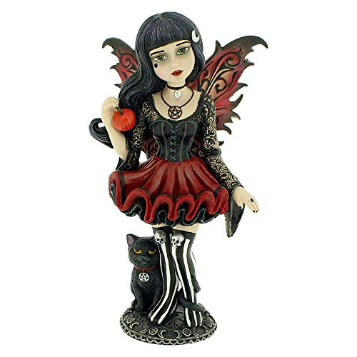 Little Shadows Nemesis Now Haselfigur aus Kunstharz, 16 cm, Einheitsgröße, Rot