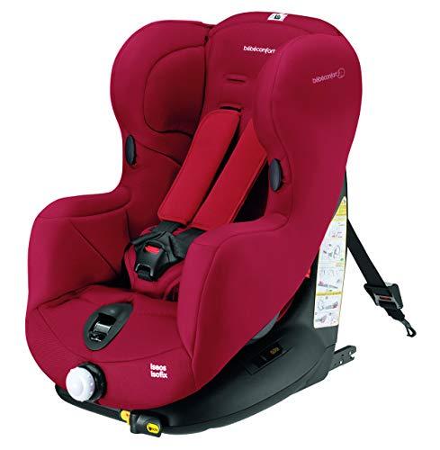 Bébé Confort Iseos, Silla de coche grupo 1 Isofix, rojo (Raspberry Red)