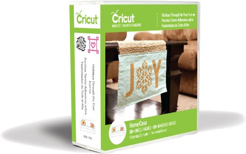Cricut Holidays Through The Year Iron-on Cartridge