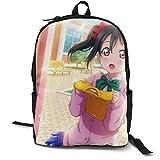Anime Love Live - Yazawa Nico School Backpack Lightweight Bookbags Students Schoolbag Travel Daypack Laptop Bag For Womens Mens
