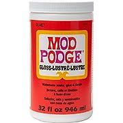 Mod Podge Gloss Waterbase Sealer, Glue and Finish - 32 oz