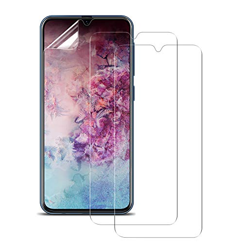 VICKSONGS Schutzfolie für Samsung Galaxy A70, [3 Stück/0,2mm] HD Clear Ultra Dünn Bildschirmschutzfolie [Nicht Glas] Bildschirmschutz [Anti-Bläschen] [Anti-Fingerabdruck] A70 Bildschirmfolie Schutz Folie