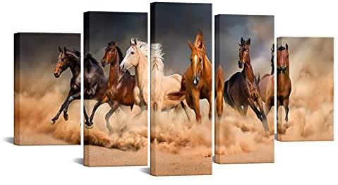 Horse paintings on canvas for sale