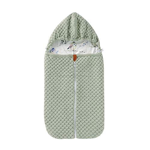 XINGYUE Saco de dormir para cochecito de bebé, universal, cálido, para invierno, para cochecito de bebé, con cremallera, para recién nacido, para bebés de 0 a 12 meses