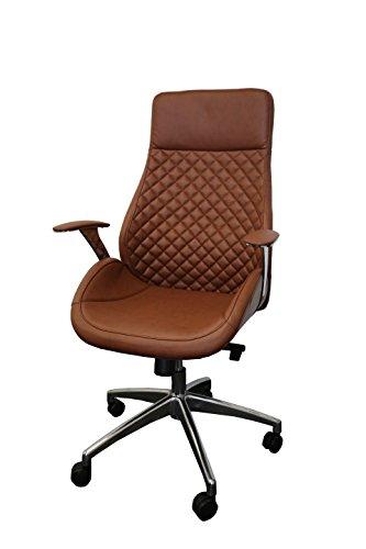 212605 Bürodrehstuhl Designer Drehstuhl Chefsessel