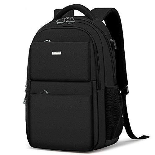 Men Backpack Shoulder Bag Simple School Bag Travel Brand Waterproof Backpack Notebook Computer Anti-Thief USB Bag