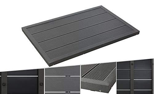 Arebos - Bodenelement für Solardusche oder Pool | Gartendusche | Pooldusche | Bodenplatte | Gartendusche Bodenelement | 101 x 63 x 5,5 cm