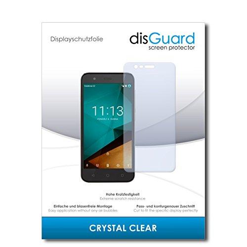 disGuard® Bildschirmschutzfolie [Crystal Clear] kompatibel mit Vodafone Smart Prime 7 [2 Stück] Kristallklar, Transparent, Unsichtbar, Extrem Kratzfest, Anti-Fingerabdruck - Panzerglas Folie, Schutzfolie