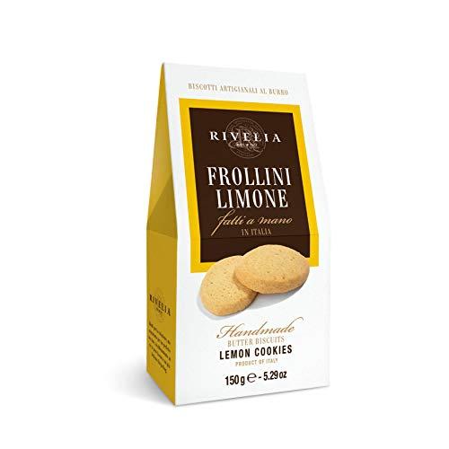 イタリア産 手作りクッキー リベリア レモンショートブレッド150g