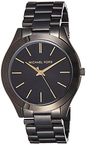 Michael Kors Reloj Analógico para Mujer de Cuarzo con Correa en Acero Inoxidable MK3221