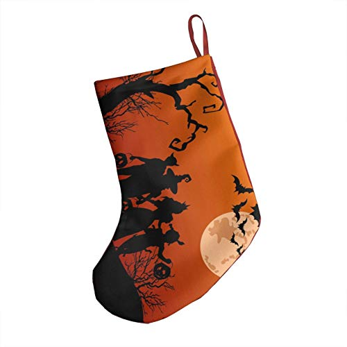 Halloween 18inch Christmas Stockings, Essential Decorations For Christmas, Halloween And Other Holidays
