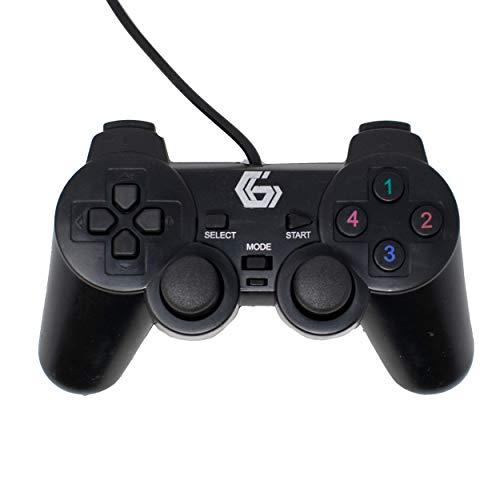 USB Zwei Vibrationen Gamepad/Spiel Joypad-Controller für PC PC DVD (Windows 7/8/10) / iCHOOSE