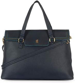 Baggit Women's Satchel Handbag (Blue)