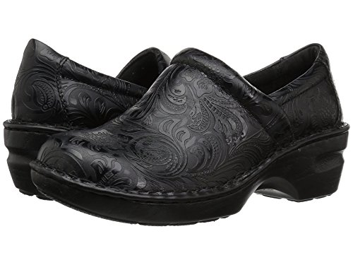 b.o.c. Women's, Peggy Clog Black Tooled 9 M