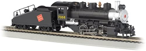 Bachmann Industries Ball 060 komotive mit Rauch und Slope Tender Canadian National   7356  Ma ab Zug Auto