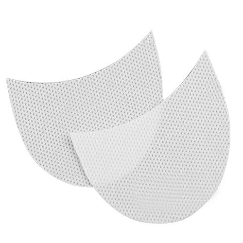 pegtopone Adesivi per ombretti, 100 Pezzi monouso per ombretto Scudo per ombretti Gel Pad Stencil per ombretti per Extension Ciglia/Trucco Labbra Adaptable