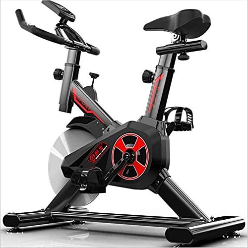 Bicicleta de ejercicio silenciosa interior de la pérdida de peso de la bici de spinning ajustable mango y asiento ideal equipo de fitness