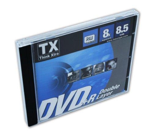 DVD+R Double Layer (Jewe Case Pz.1) (8x 8.5gb)