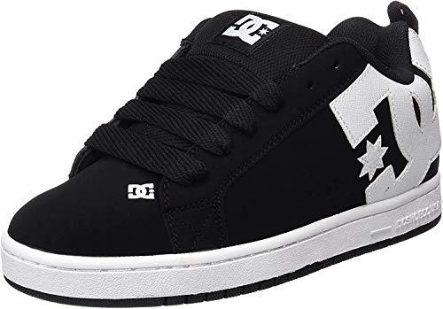 DC Shoes Court Graffik M Zapatillas de Skateboarding, Hombre, Negro (Black), 44