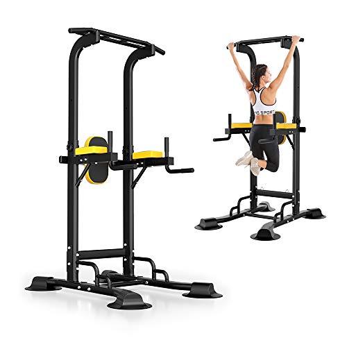 ReshapeLife ぶら下がり健康器 チンニング 筋力トレーニング 懸垂マシン 耐荷重180kg マルチジム 懸垂器具 多機能 室内 背筋 腹筋 大胸筋 [1年間品質保証]