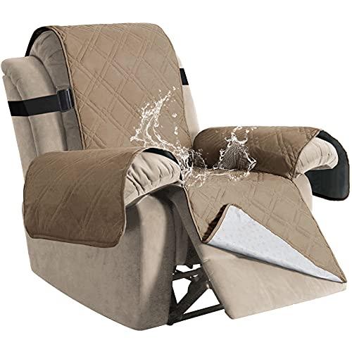 H.VERSAILTEX 100% Waterproof Quilted Recliner Chair Cover Recliner Cover Recliner Slipcover for...