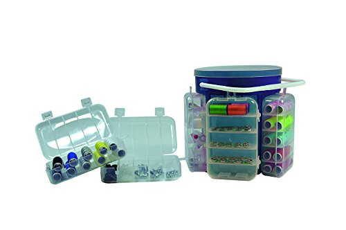 Jocca Kit de Costura, Polipropileno, Azul, 16.5 x 16.5 x 15.