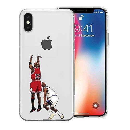 RY Funda para teléfono iPhone 5/5s/SE, TPU Delgado Claro a Prueba de Choques y Cubierta de la Funda contra Rayones [KEX1800006]