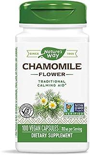 Nature's Way Chamomile, 350 Milligram, 100 Capsules