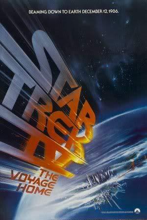 Star Trek IV 4 The Voyage Home – Film Poster Plakat Drucken Bild – 43.2 x 60.7cm Größe Grösse Filmplakat