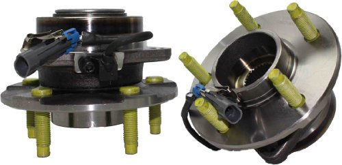 Detroit Axle 513189 Wheel Bearing Hub Assembly Front Driver and Passenger Side 2-PC for Chevrolet Equinox Pontiac Torrent Saturn Vue 2002 2003 2004 2005 2006 2007