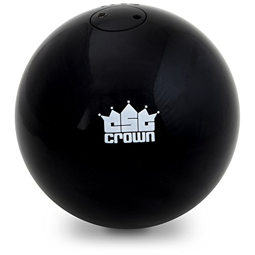 Crown Sporting Goods 7.26kg (16lbs) Shot Put, Cast Iron Weight Shot Ball - Great for Outdoor Track & Field Competitions, Practice, Training