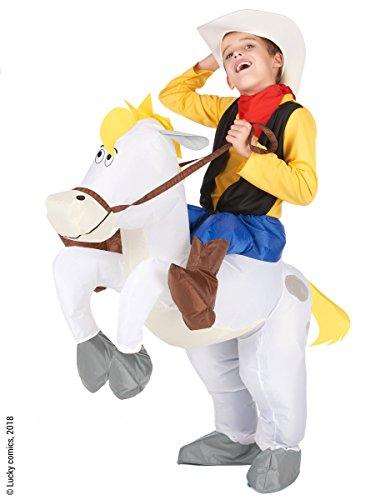 Vegaoo - Disfraz Carry me nio Lucky Luke sobre Jolly Jumper - Talla nica