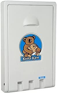 Koala Kare KB101-05 Vertical Wall Mounted Baby Changing Station, White Granite