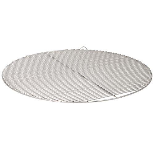 Parrilla de acero inoxidable redonda (varios tamaños disponibles, para barbacoa de carbón...