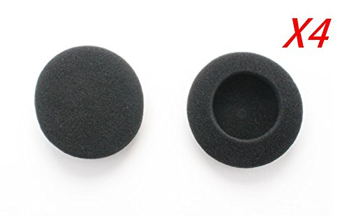 Zotech 4 Pairs 2.5'' (60mm) Replacement Foam Pad Ear Cover for Philips Sony Headphones