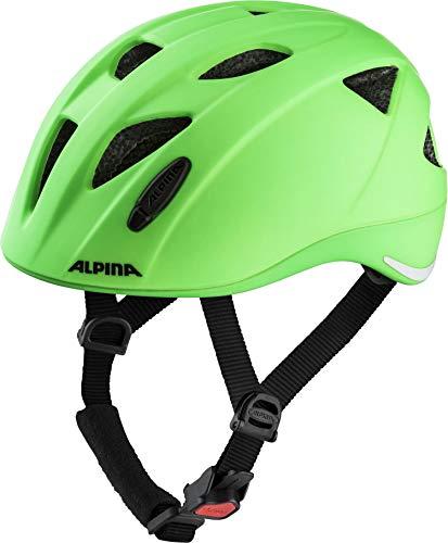 ALPINA Unisex - Kinder, XIMO LE Fahrradhelm, green, 47-51 cm