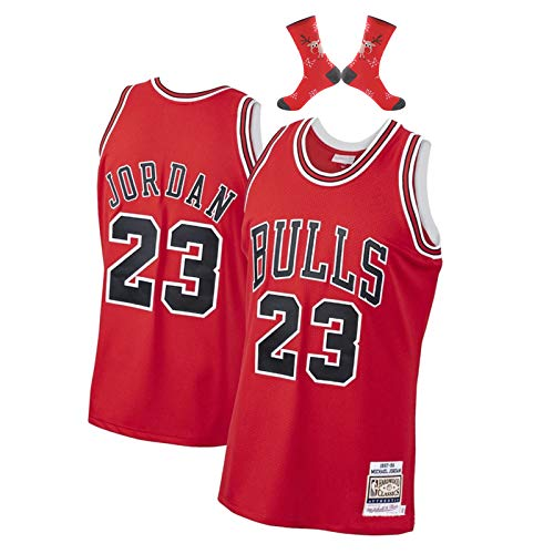 Camiseta de Baloncesto Michael Jordan Chicago Bulls 23# Men,