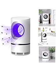 Mosquito And Flies Killer Trap, USB Mosquito Lamp, Photocatalytic USB Mosquito Mosquito Killer, Mosquito Killer Lamp With USB Power Supply And Adapter, Suction Fan, No Zapper, Child Safe