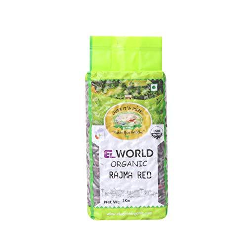 ELWORLD AGRO & ORGANIC FOOD PRODUCTS Rajma (Red Kidney Beans), 1 Kg