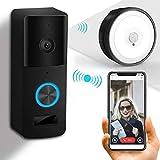 Video Doorbell CHIME, Yiroka Doorbell Camera WIFI Wireless, IP55 Waterproof 720P HD Camera
