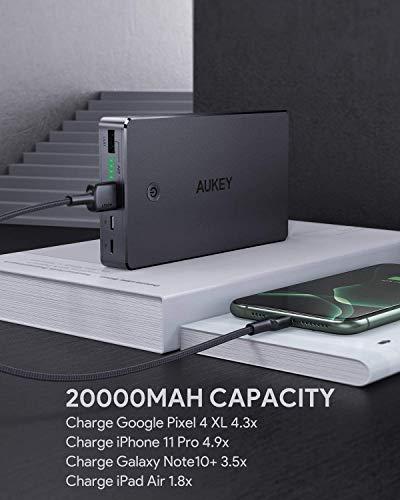 AUKEY Powerbank 20000mAh – Externer Akku - 6
