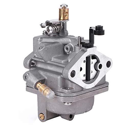 Alomejor Carburador de Motor fueraborda 4 Tiempos 6 Caballos de Fuerza Carburador de Barco de Repuesto para Piezas de actualización