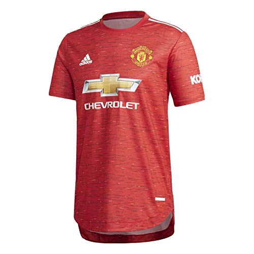Mens Manchester United Authentic Soccer Jersey 2020-21 (Large)