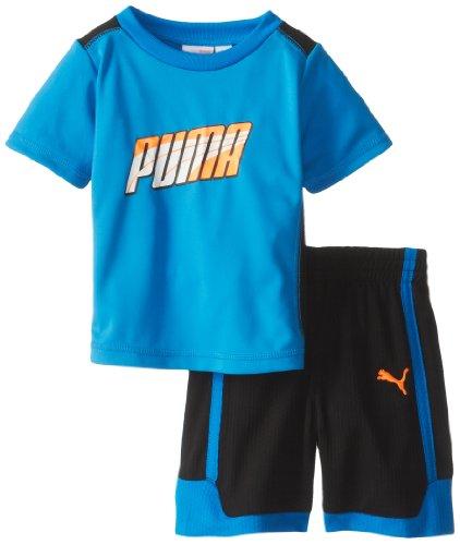 PUMA Kids Baby Boys' Formstripe Perf Set, Radiant Blue, 18 Months