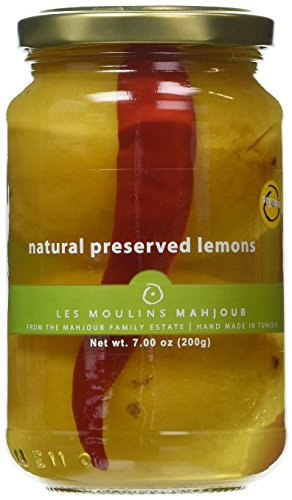 Les Moulins Mahjoub Preserved Lemons - 200g (Pack of 4)