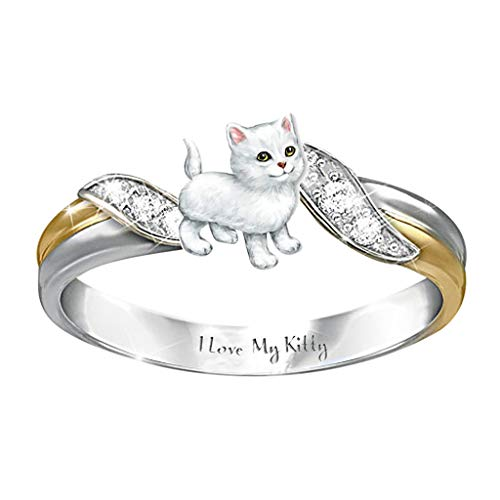 2021 Anillos de moda para mujeres y niñas, personalizados, premium mamá te ama siempre, anillo de plata de diamante exquisito, anillo de boda, regalo de diamantes de imitación,...