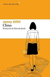 Clima: 245 par Jenny Offill