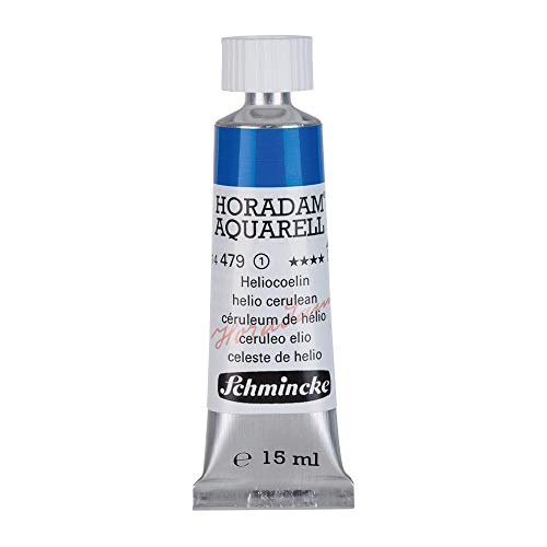Schmincke Horadam Watercolour 15ml Helio Cerulean