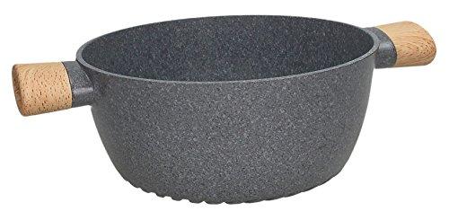 Tognana Energica Casseruola con 2 Manici, Alluminio pressofuso, Grigio, 20 cm